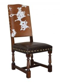 Colton Cowhide Dining Chair | John Proffitt