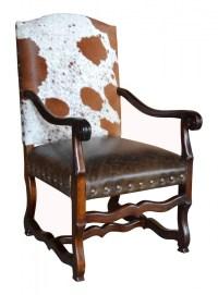 Classic Cowhide Arm Chair   John Proffitt
