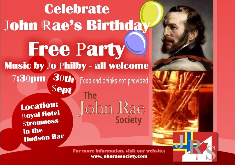 John Rae's Birthday 2016