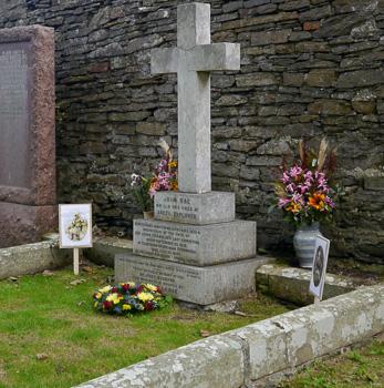 John Rae graveside ceremony