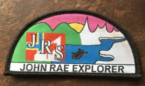 John Rae Explorer Badge