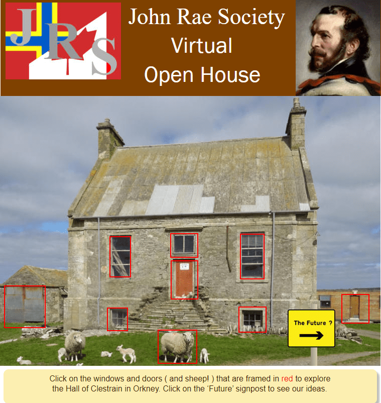 Virtual Open Day at the Hall of Clestrain