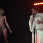 from performing as Princess Leia in Melissa Driscol's show at Stonewall