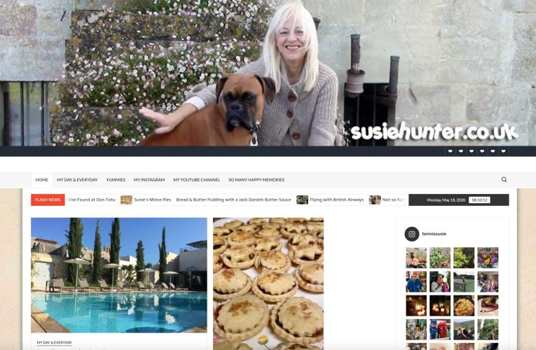 A Revamped Susie's Blog Site