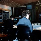 Rupert Hine at Metropolis Recording Studio London 1990