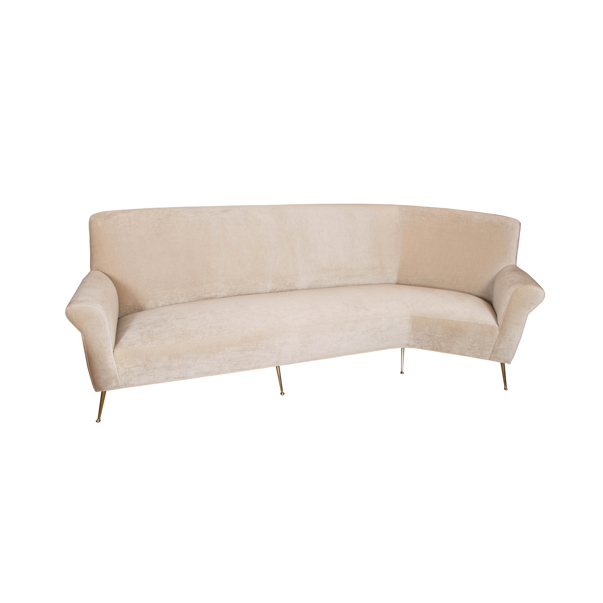 l shaped modern sofa raleigh dwr review long sofas john salibello