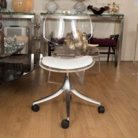 Rolling lucite chair | Desk Chairs | John Salibello
