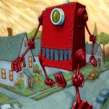 sauer-painting-big-red-robot