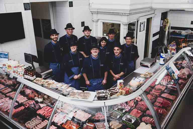 Staff Saunderson's Quality Family Butcher Edinburgh