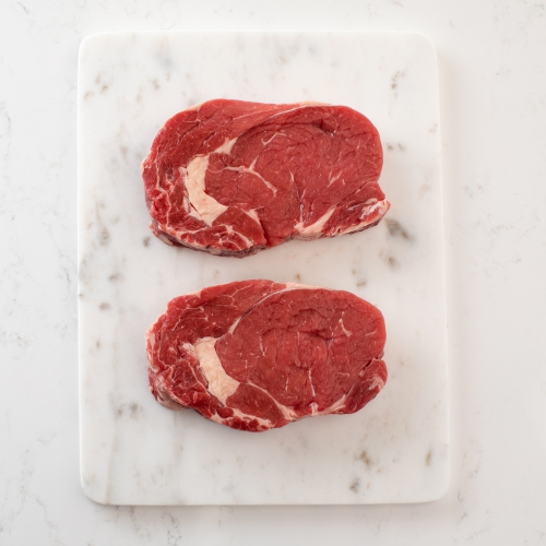 Scotch beef ribeye steak Saunderson's Edinburgh butcher