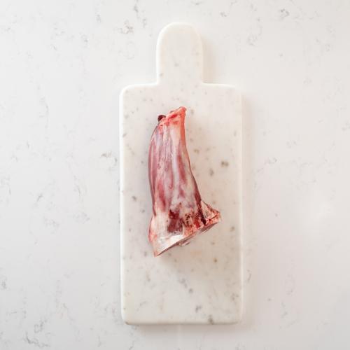 Scotch lamb shank Saunderson's Edinburgh butcher