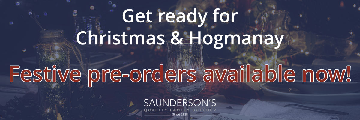 Festive pre-orders Scotch beef lamb pork poultry online and in store