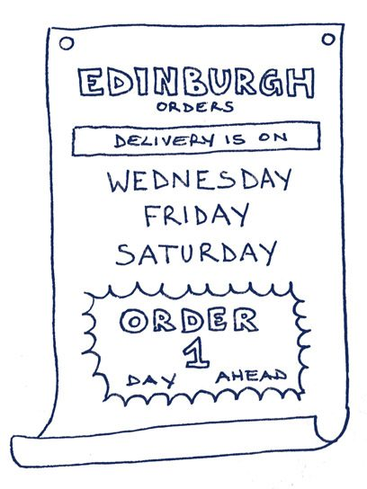 Saunderson's Click and Deliver: Delivery Times