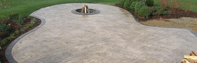 Stamped Concrete Exposed Aggregate And Driveways Mi