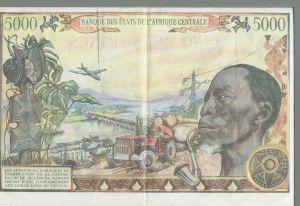 CAR 5000 Franc Note