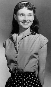 audrey at 13