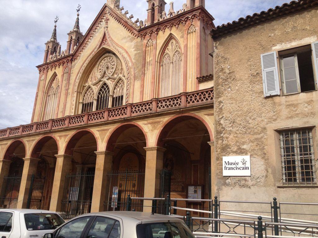 Franciscan Museum near the Villa