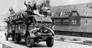Truck with allied liberators