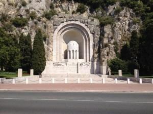 War Memorial in Nice-a