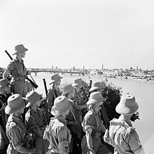 British troops in Iraq 1941