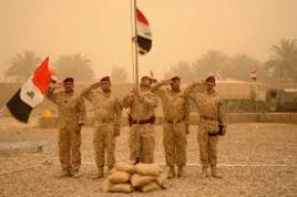 Iraqi army takes over