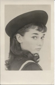 Audrey Hepburn as Gigi -1951
