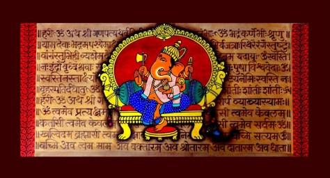 Lord Ganesha Blessings Amol Saraf
