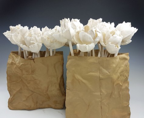 Tulips in Bags