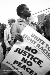 No Justice, No Peace  sheila turner