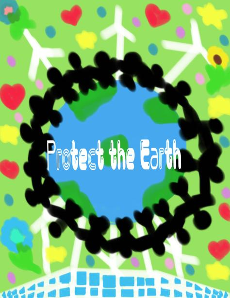 Julia Natalie Alarcon Protect the Earth 1st Place Digital Under 7