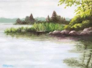 Elizabeth Caperton Hancock Pond