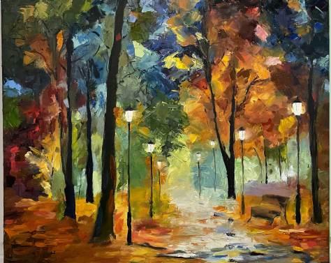 Frances Hoyt Rainy Night