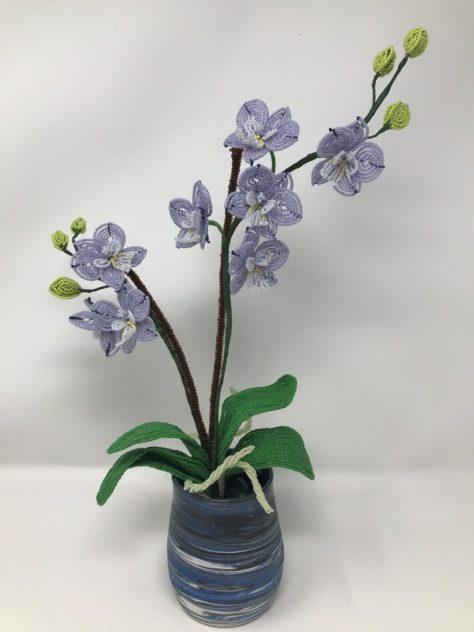 Ketki Desai Beaded Orchid