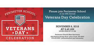 Veterans Day Celebration - Johns Creek Post