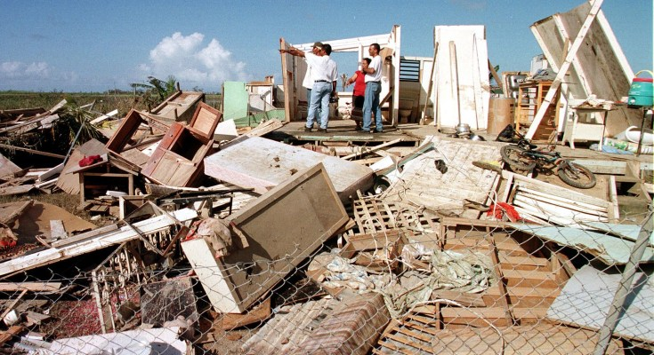 Hurricane Destruction — Photo Courtesy of FEMA