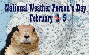 Let's celebrate the REAL weather forecasters day…. Feb 5