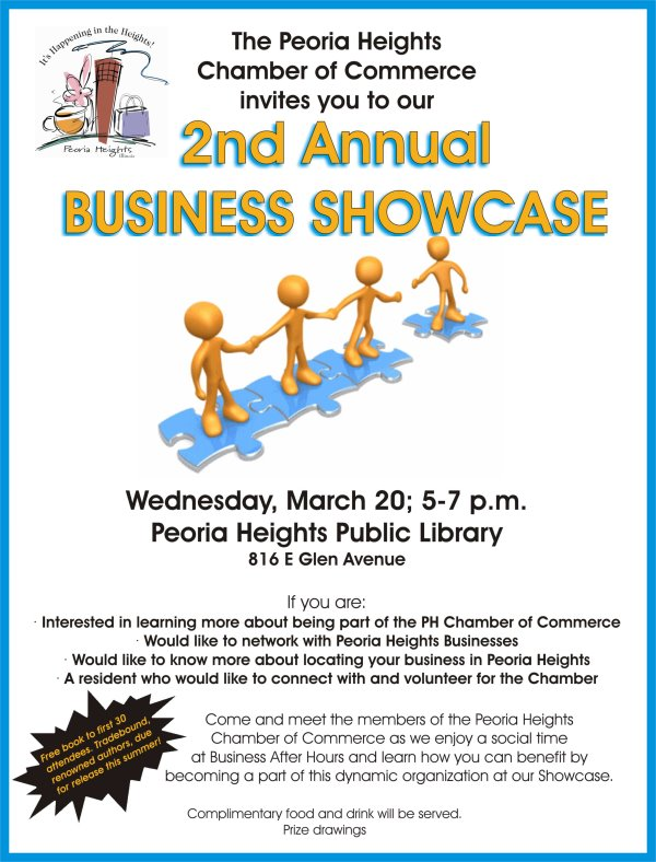 2nd Annual Peoria Heights Chamber of Commerce Business Showcase 2013