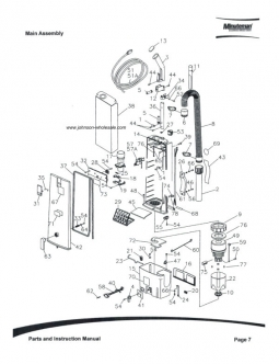 Minuteman Vacuum Parts: Johnson Wholesale