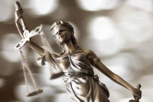 Lady Statue of Justice