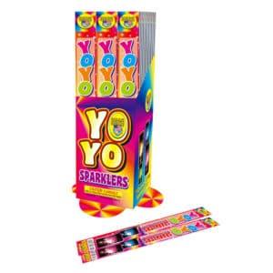 Yo-Yo Sparklers