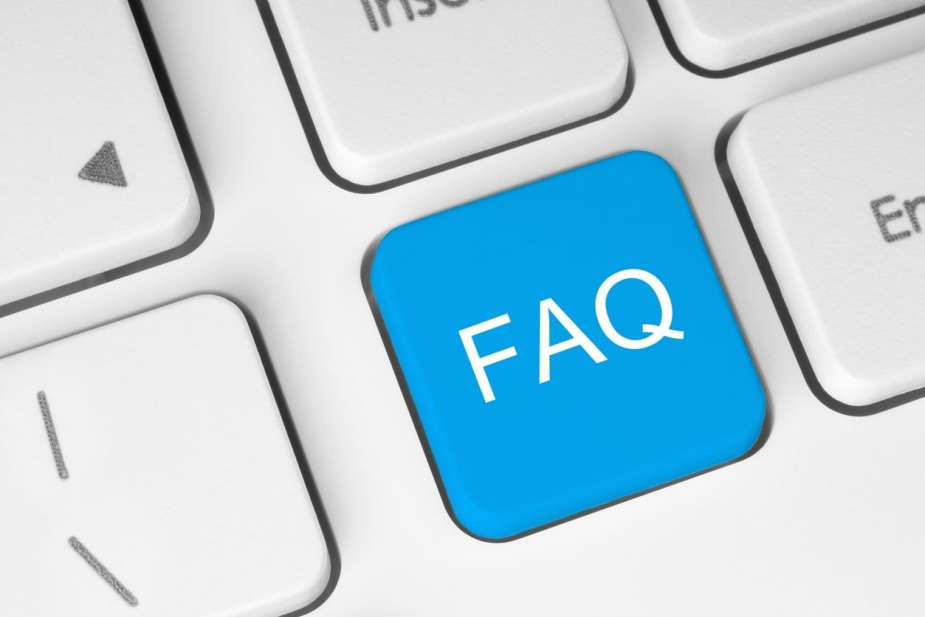 FAQ button on keyboard