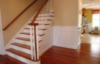 3700 Foot Custom Home  Custom Flared Stairs