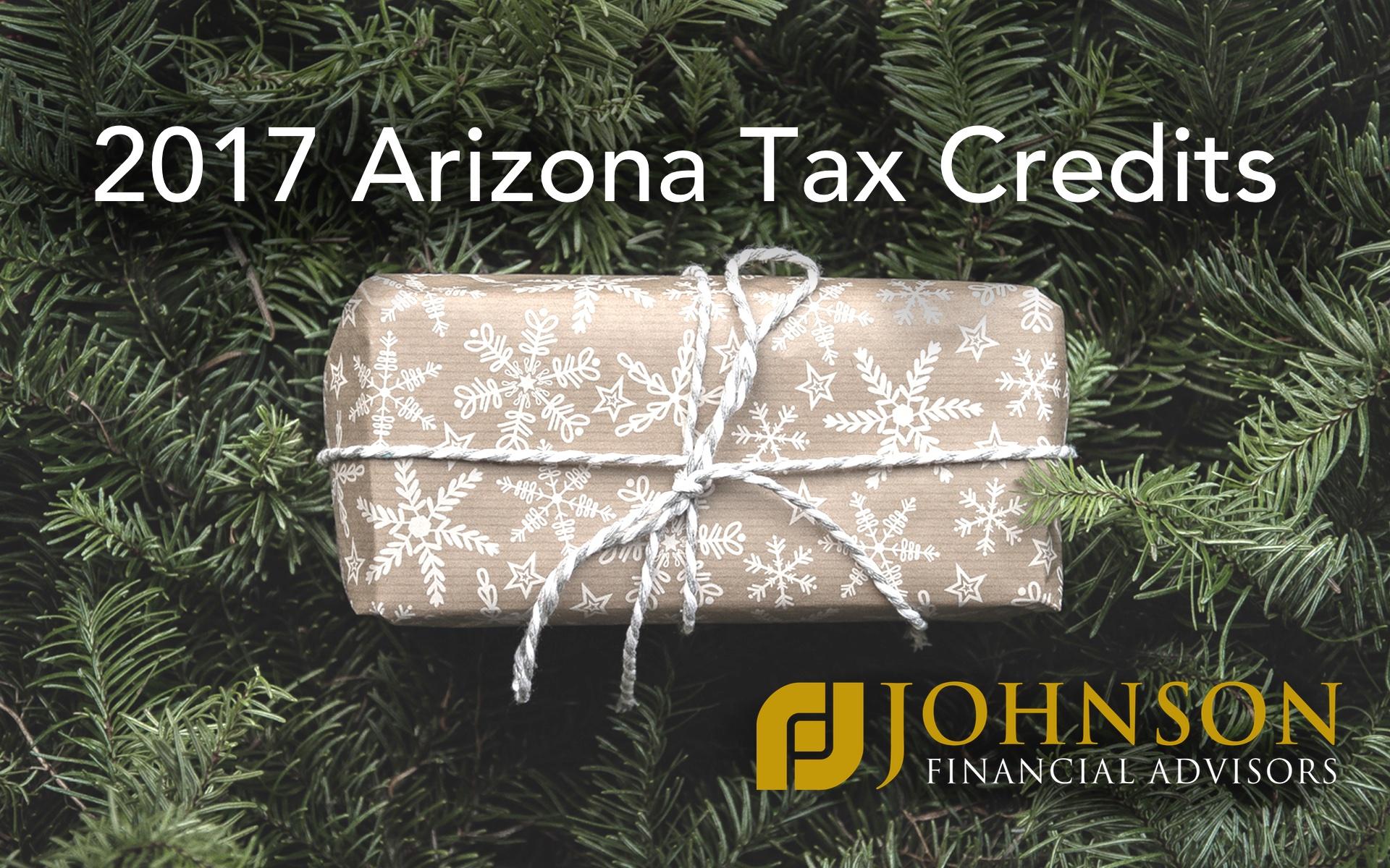 Arizona Tax Credits For