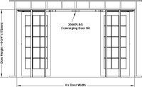 2000 Series Pocket Door Frame | Johnsonhardware.com ...