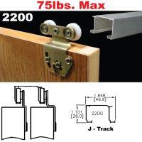 Johnson Hardware 2200 Sliding Bypass Door Hardware ...
