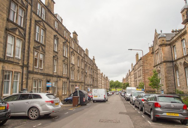 Dean Park Street Comely Bank Edinburgh - Johnson