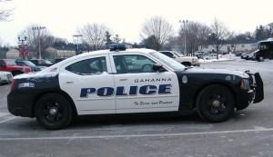 Gahanna Ohio police car