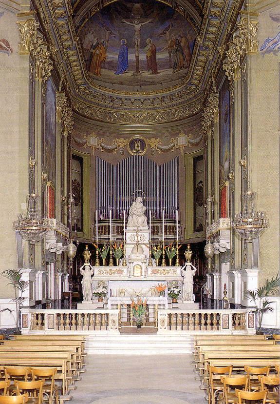 Litografia Stalles Il Coro Chiesa Di Brou Antiques