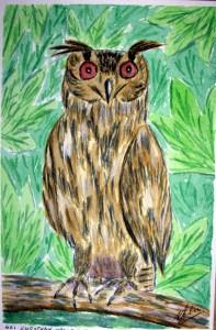421 EAGLE OWL
