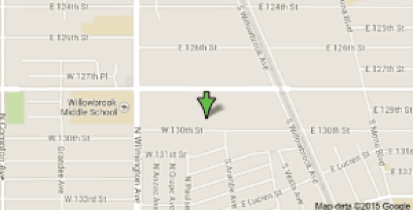 Google Map 2045 E 13th Street Compton CA 90222 800x416